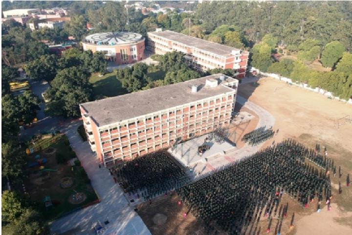 """St. AnneS Convent School-School Top View"""