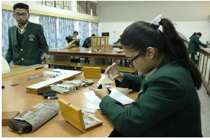 """St. AnneS Convent School-Physics Lab"""