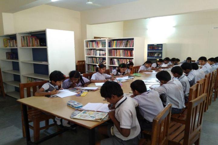 GVK Chinmaya Vidyalya-Library