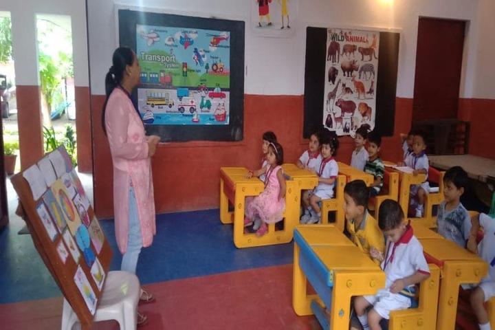Renaissance Dron School-Pre Primary Classroom