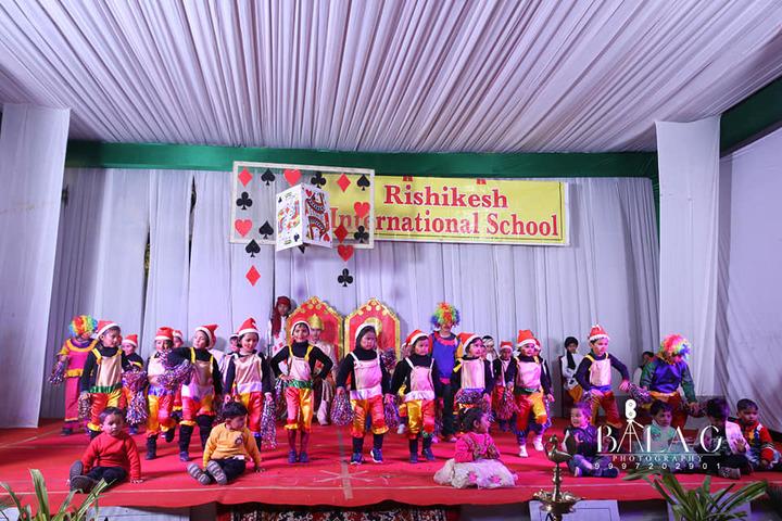 Rishikesh International School-Dance Performance