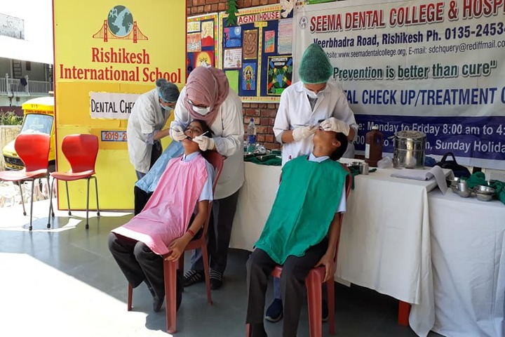 Rishikesh International School-Dental Checkup