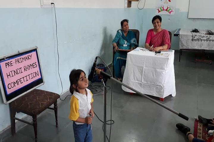 Rishikesh International School-Hindi Rhymes Competition