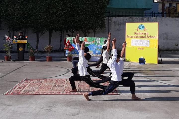 Rishikesh International School-Yoga