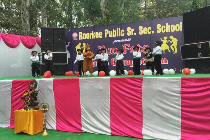 Roorkee Public Senior Secondary School-Dance Performance