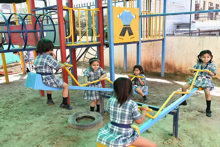 """ St. Peters Senior Secondary School-Kids play area"""