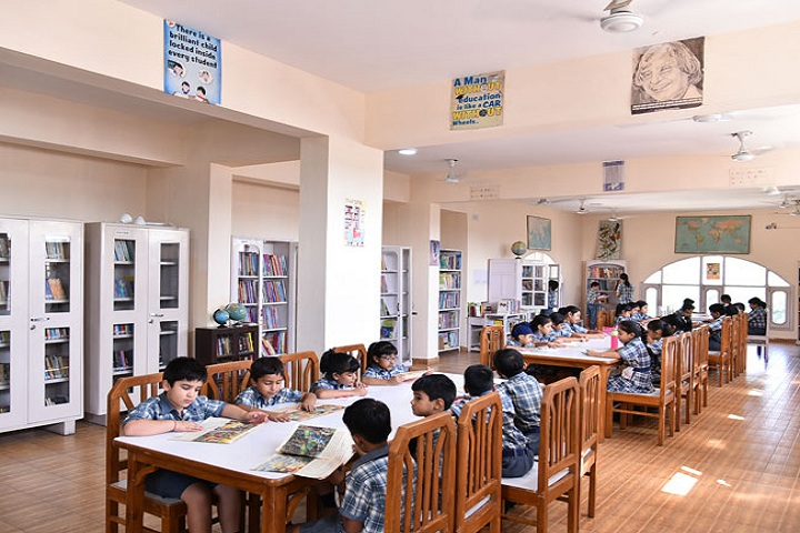 """ St. Peters Senior Secondary School-library"""