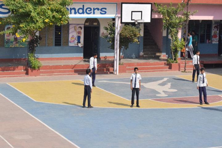 S K M Public School-Basket Ball Court