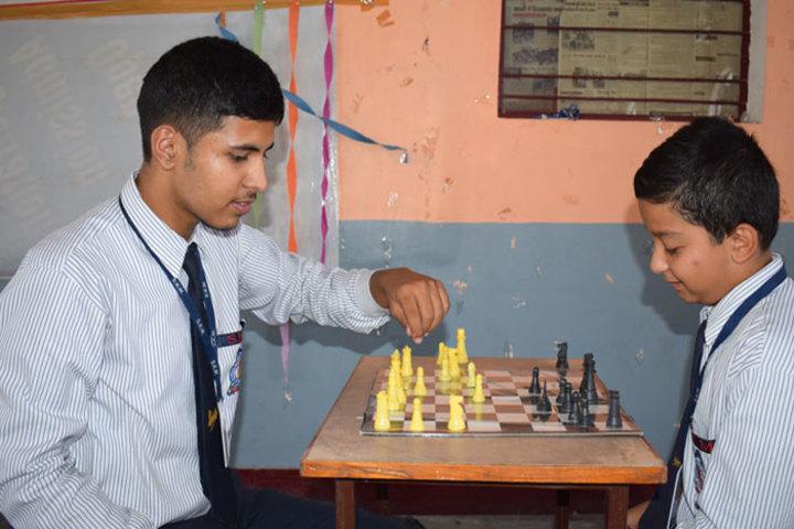 S K M Public School-Indoor Games