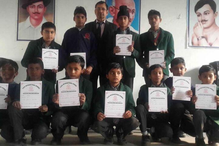 S B N International School-Felicitation