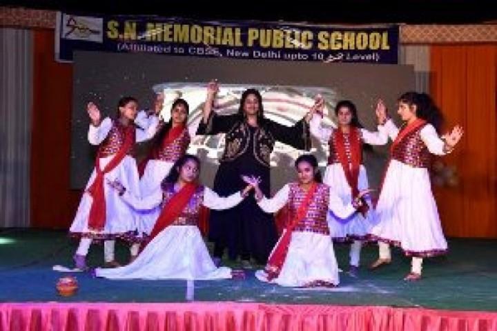 S N Memorial Public School-Dances