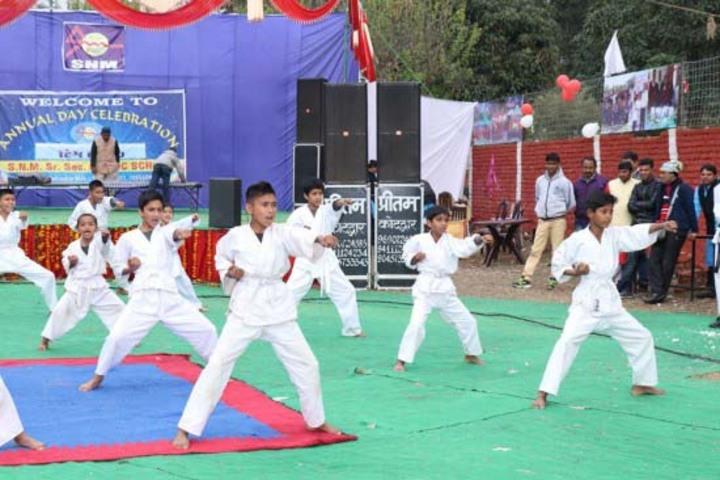 S N Memorial Public School-Karate