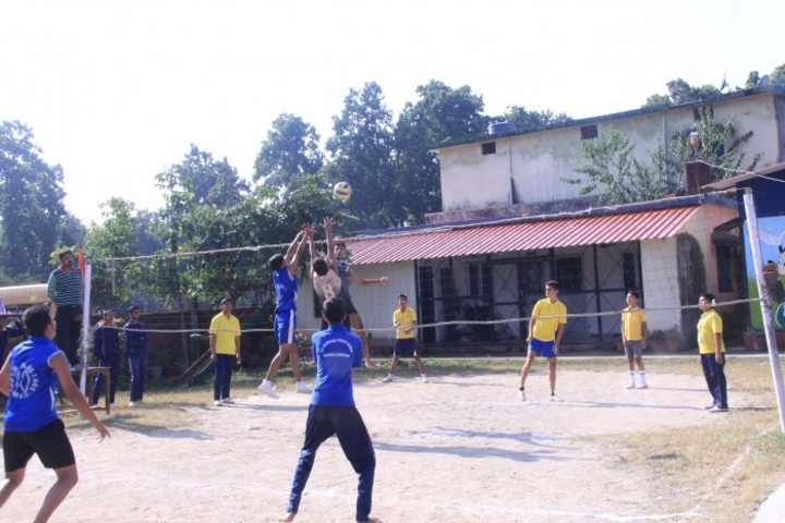 S N Memorial Public School-Volley Ball