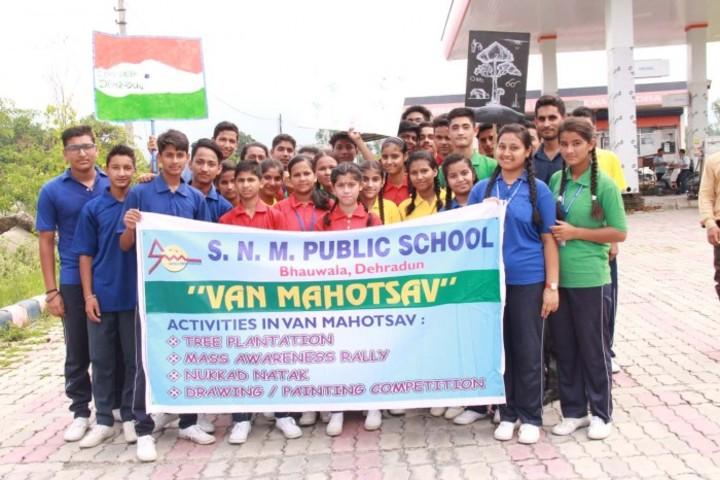 S N Memorial Public School-Enviornmental Day