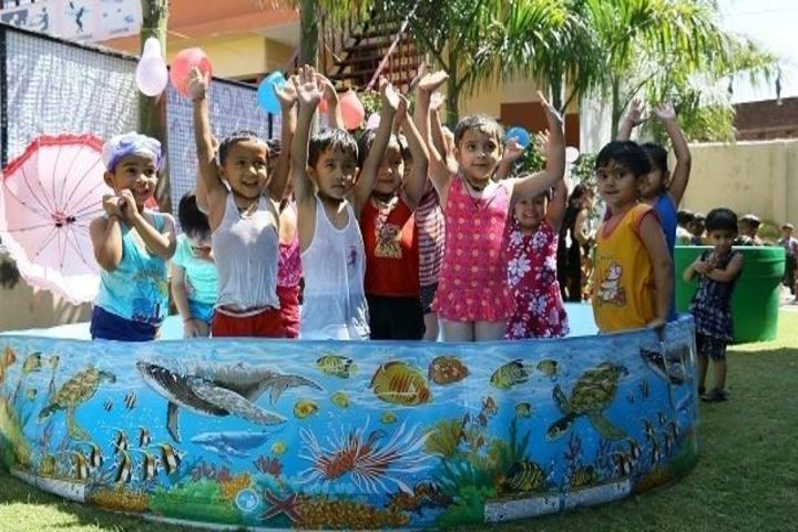 Sai Grace Academy International-Kids Pool Activity