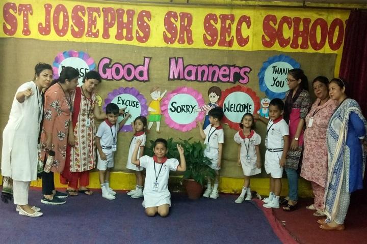 St Joseph High School-Activity