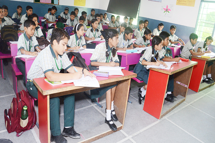 Sai Public School-ClassRooms