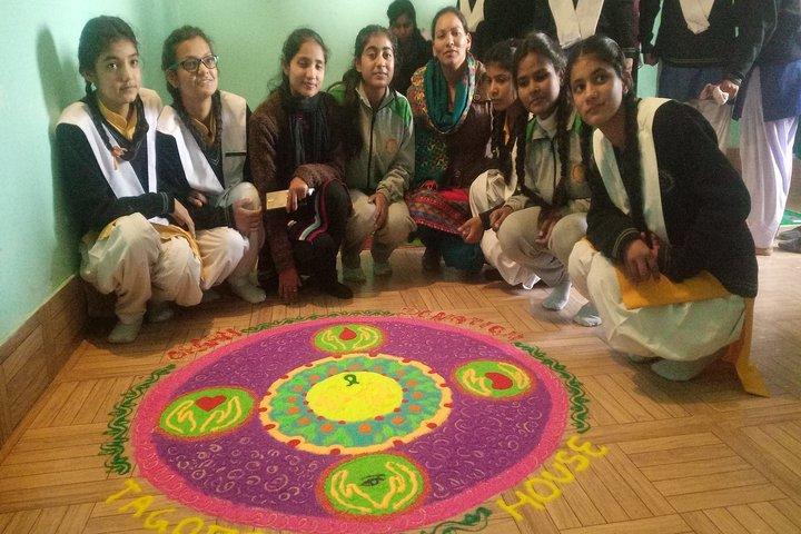 Sangam Children Academy-Rangoli
