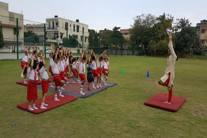 Stepping Stones Sec School-Yoga