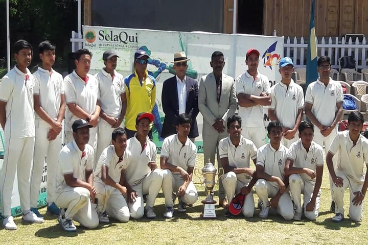 Selaqui International School-Cricket Team Winners