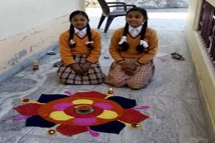 Shemford Futuristic School-Rangoli