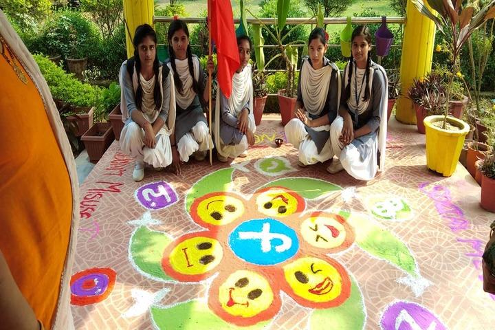 Sheron Public School-Rangoli