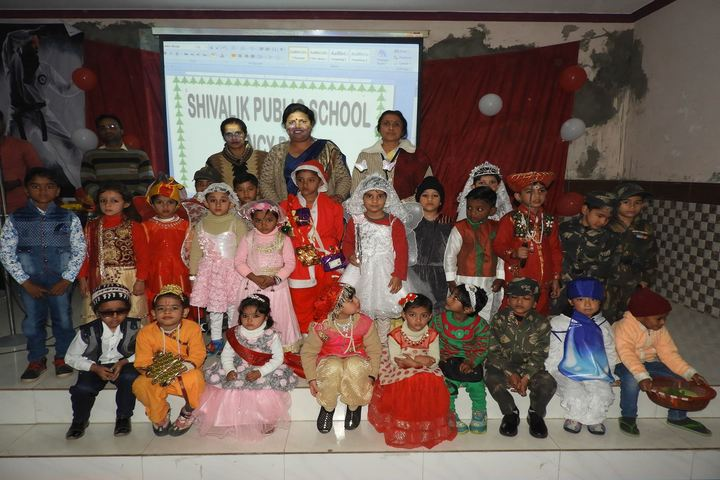 Shivalik Public School-Fancy Dress Competition