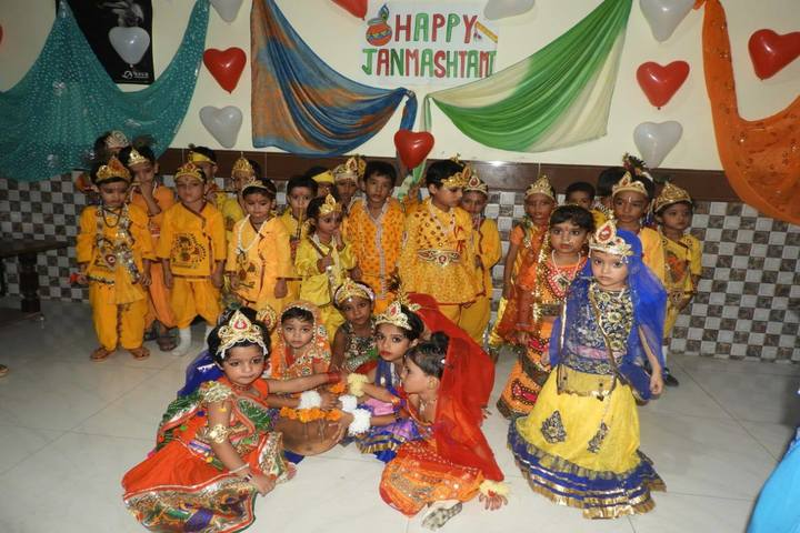Shivalik Public School-Janmashtami Celebrations