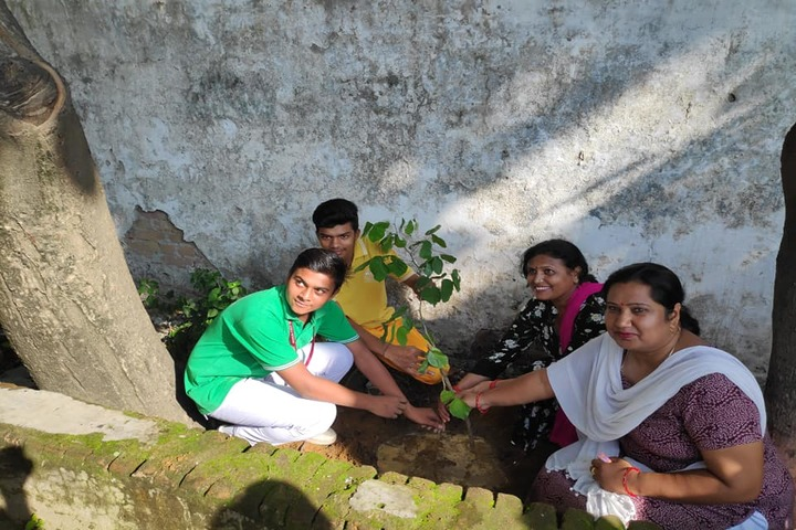 Shivalik Public School-Plantation Activity