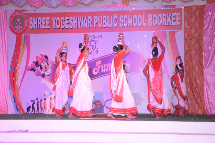 Shree Yogeshwar Public School-Dances