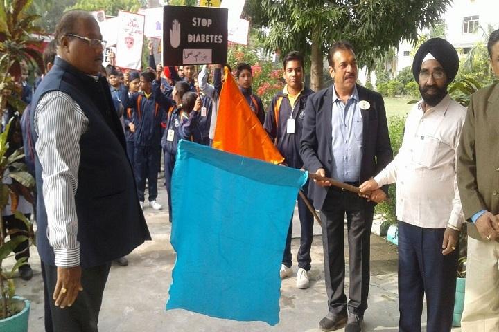 Shri Guru Nanak Senior Secondary School-Diabetic Awareness