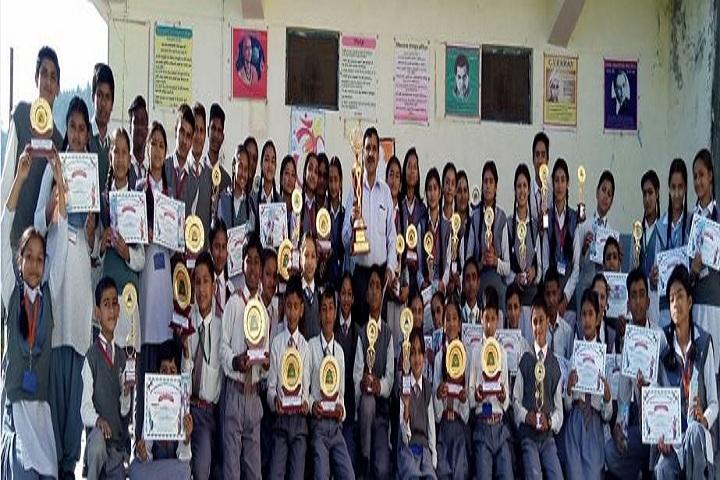 Shri Guru Ram Rai Public School-Award Receiving