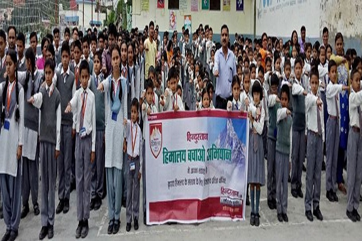 Shri Guru Ram Rai Public School-Save Himalayas Event