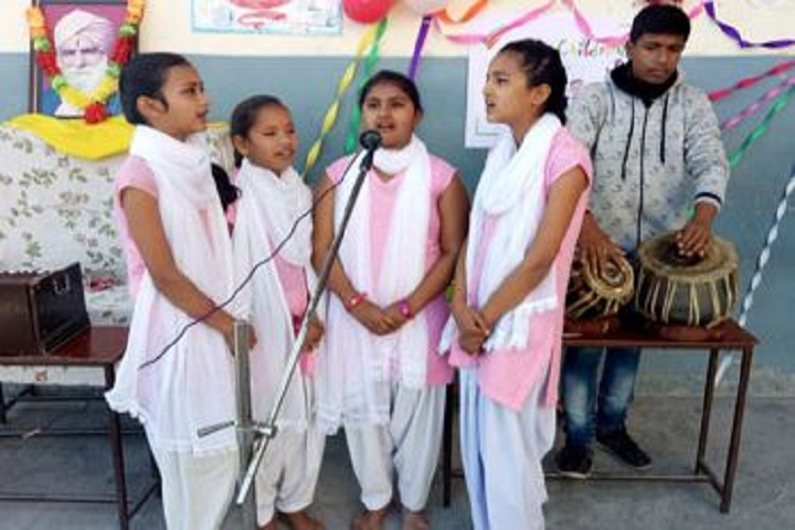 Shri Guru Ram Rai Public School-Singing Event