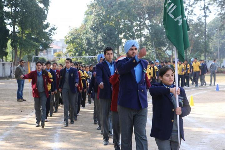 Vivek High School-Investiture Ceremony
