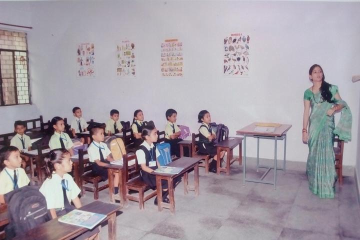 Shri Sidhbali Public School-Classroom