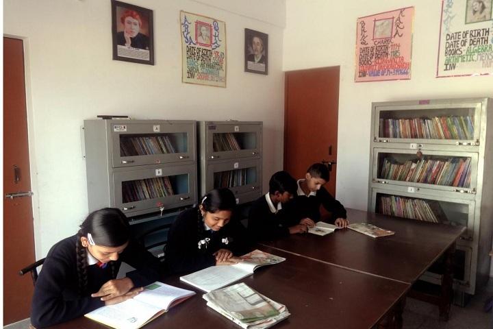 Shri Sidhbali Public School-Library