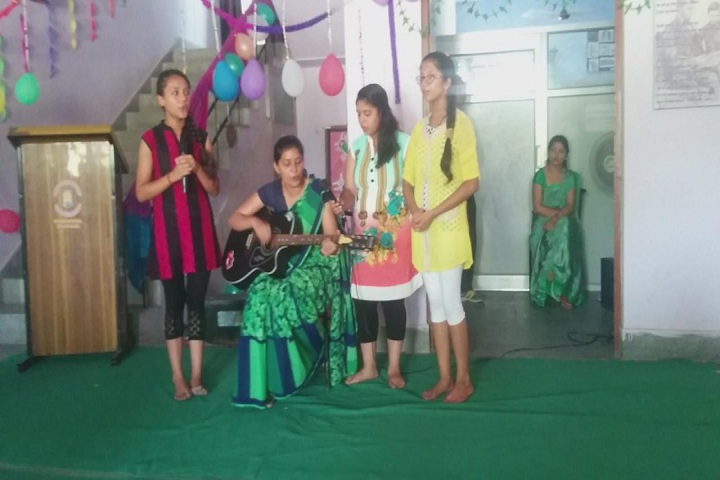 Shri Sidhbali Public School-Music Event