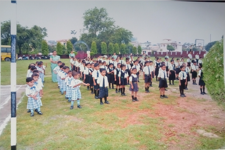 Shri Sidhbali Public School-Assembly