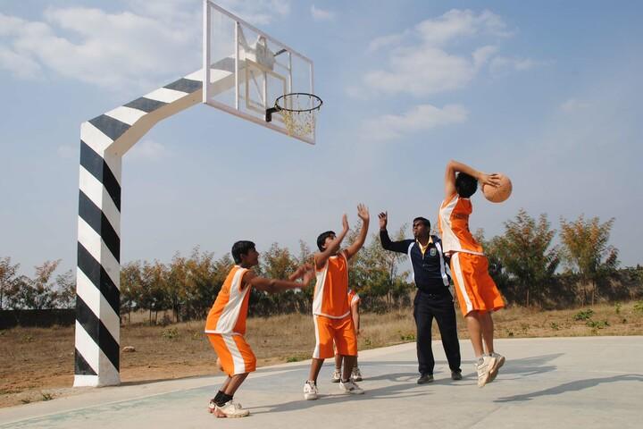 Aadeshwar Academy School Bastar-Basket Ball