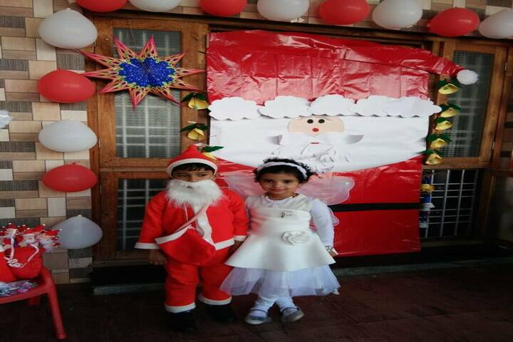 Aadeshwar Academy School Bastar-Christmas Celebration