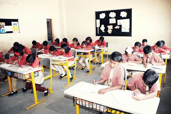 Aadeshwar Academy School Bastar-Class Room
