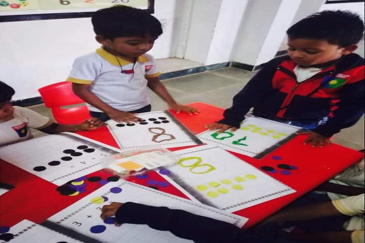 Aadeshwar Academy School Bastar-Maths Activity