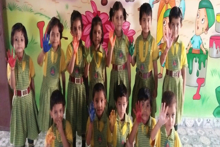Sri Sai Public School-Art Activity