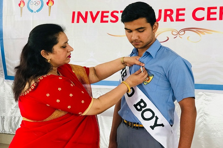 St MaryS School-Investiture Ceremony