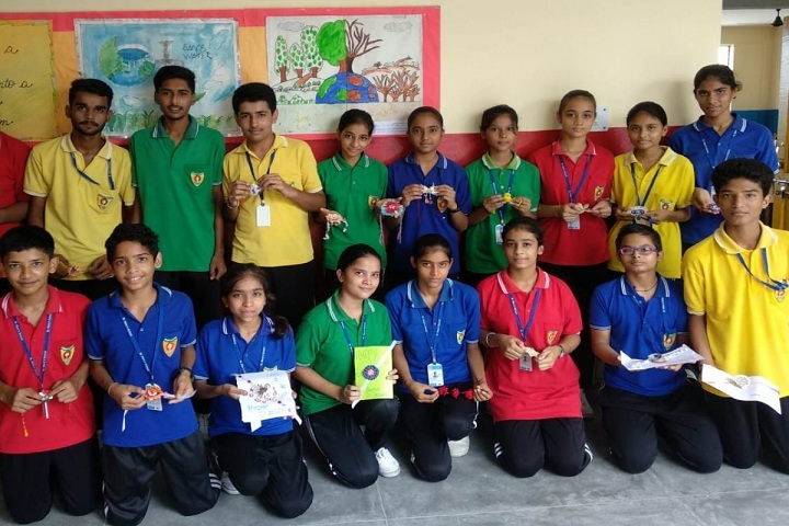 St MaryS School-Rakhi Making Competition