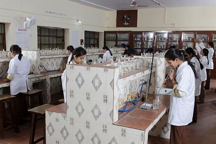 St AnnS Senior Secondary School-Chemistry-Lab