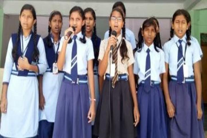Aastha Vidya Mandir English Medium School- Group Song