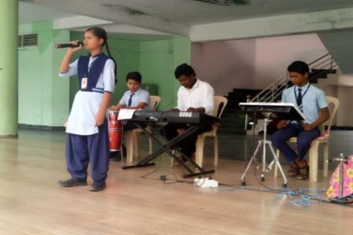 Aastha Vidya Mandir English Medium School- Singing Competition
