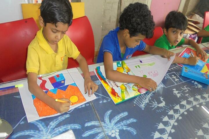 Abhyuday School Kawardha-Drawing